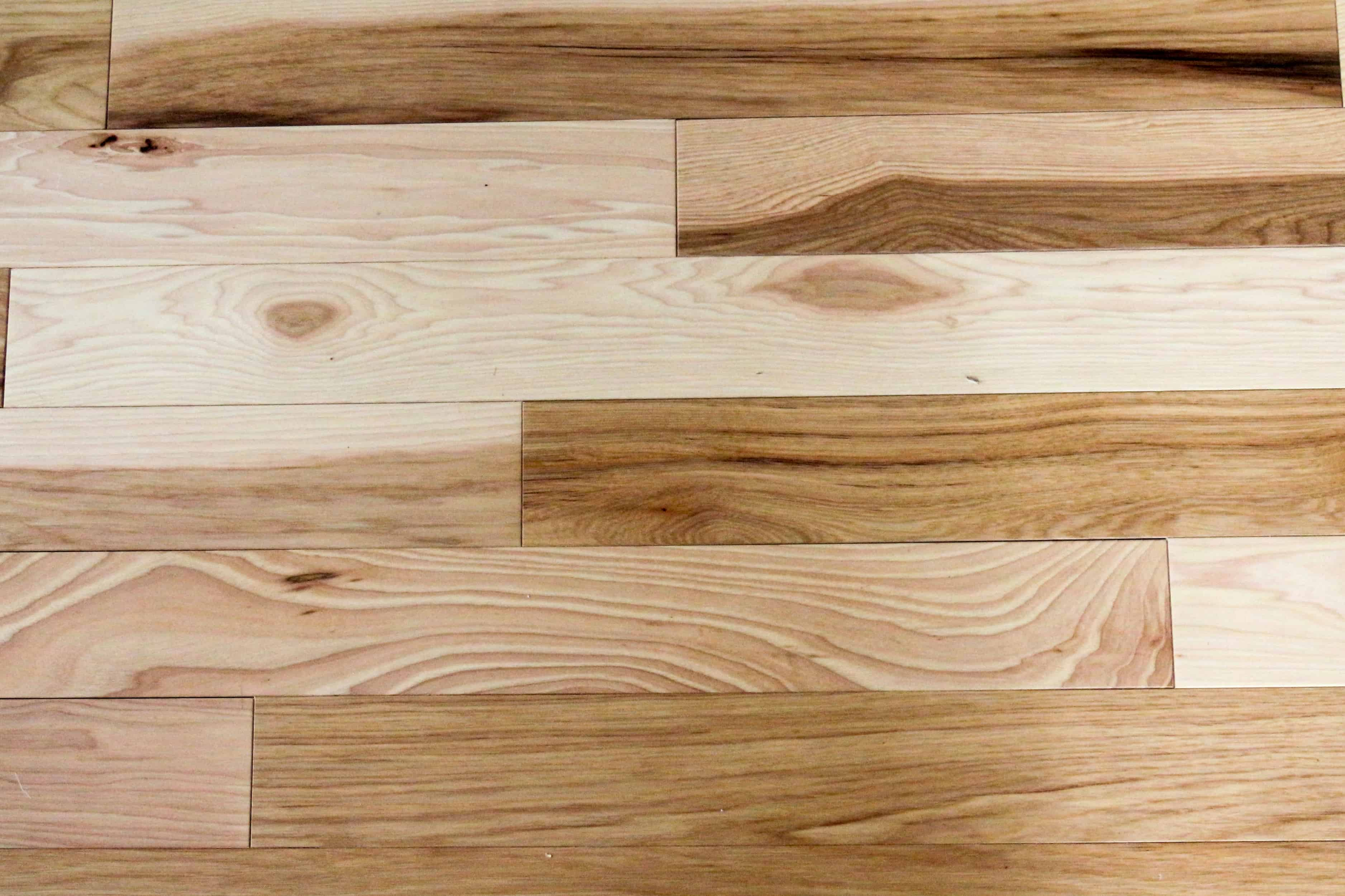 Hickory Hardwood High Contrast Beauty
