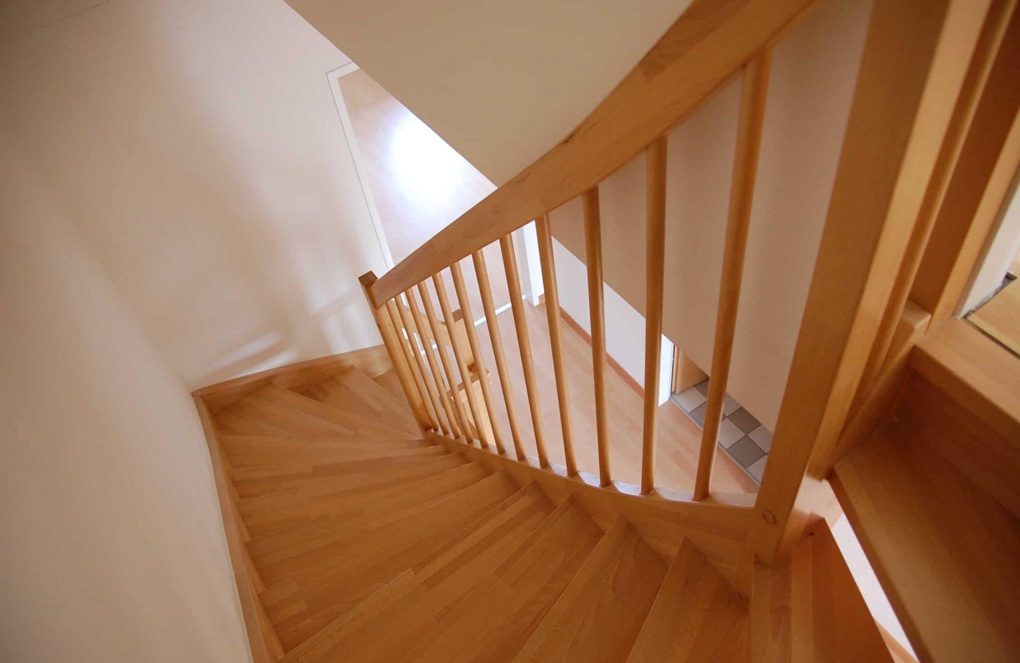 Brown Wooden Handrail